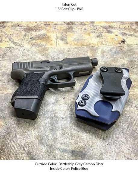 Slim Kydex Holster - Double Layer
