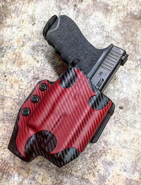 Slim Light Kydex Holster - Double Layer